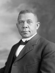 Portrait of Booker T. Washington by Stocktrek Images
