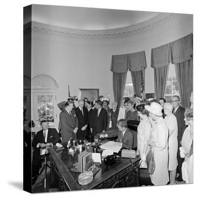 President John F. Kennedy Signing the Equal Pay Act