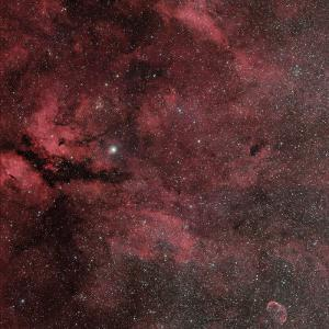 Sadr Region with the Crescent Nebula by Stocktrek Images