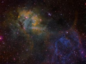 Sharpless 2-132 Emission Nebula by Stocktrek Images
