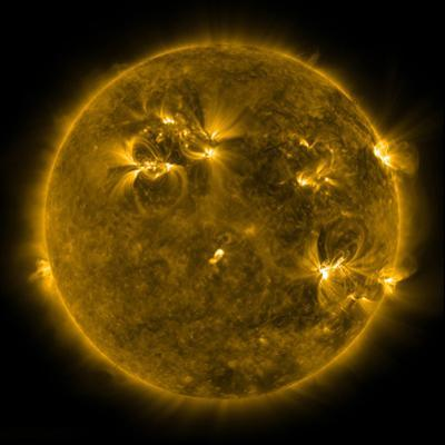 Solar Activity on the Sun by Stocktrek Images