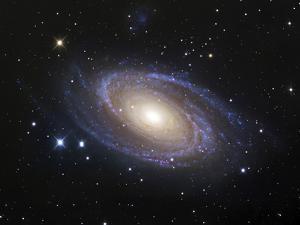 Spiral Galaxy Messier 81 by Stocktrek Images