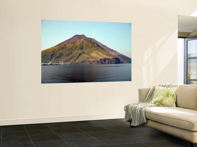 Stromboli Volcano, Aeolian Islands, Mediterranean Sea, Italy by Stocktrek Images