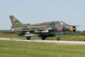 Sukhoi Su-22M Fitter from the Polish Air Force by Stocktrek Images