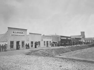 Sutler's Row, Chattanooga, Tennessee, During the American Civil War by Stocktrek Images