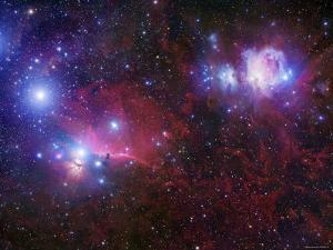 The Belt Stars of Orion by Stocktrek Images