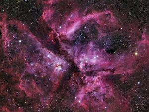 The Eta Carinae Nebula by Stocktrek Images
