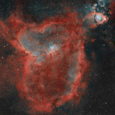 The Heart Nebula by Stocktrek Images