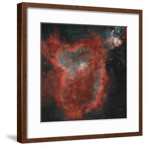 The Heart Nebula by Stocktrek Images