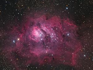 The Lagoon Nebula by Stocktrek Images