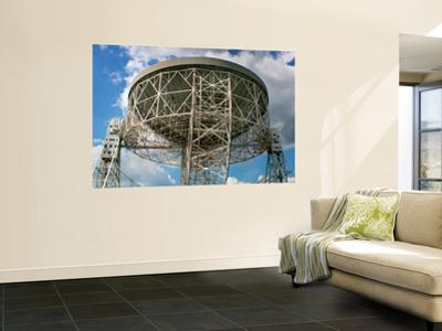 The Lovell Telescope at Jodrell Bank Observatory in Cheshire, England