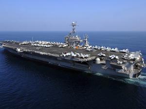 The Nimitz-class Aircraft Carrier USS John C. Stennis by Stocktrek Images