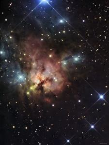 The Northern Trifid Nebula by Stocktrek Images