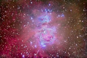 The Orion Nebula Region by Stocktrek Images
