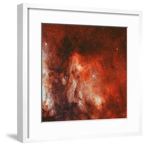 The Pelican Nebula by Stocktrek Images