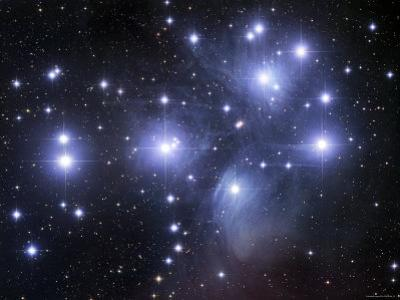 The Pleiades by Stocktrek Images
