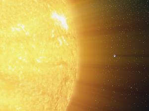 The Relative Sizes of the Sun And the Earth by Stocktrek Images