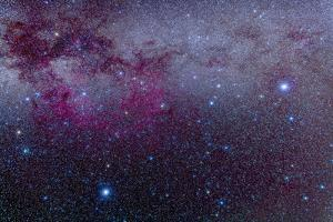 The Southern Milky Way and the Extensive Gum Nebula Complex by Stocktrek Images