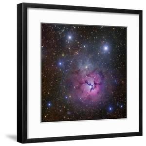 The Trifid Nebula Located in Sagittarius by Stocktrek Images