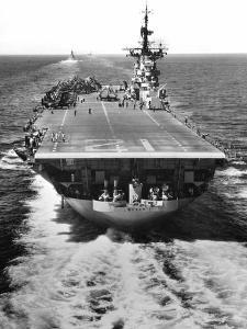 The U.S. Aircraft Carrier USS Boxer Operating Off North Korea by Stocktrek Images