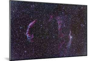 The Veil Nebula by Stocktrek Images