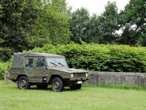 The VW Iltis Jeep Used by the Belgian Army by Stocktrek Images