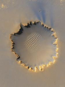This Image Shows Victoria Crater, an Impact Crater at Meridiani Planum, Near the Equator of Mars by Stocktrek Images