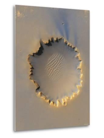 This Image Shows Victoria Crater, an Impact Crater at Meridiani Planum, Near the Equator of Mars