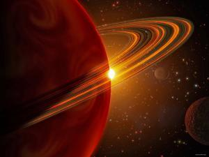 This is an Artist's Concept of Giant Planet Recently Discovered Orbiting the Sun-Like Star 79 Ceti by Stocktrek Images