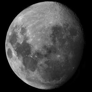 Three Quarter Moon by Stocktrek Images