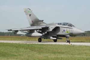 Tornado Gr4 of the Royal Air Force Armed with Alarm Missiles by Stocktrek Images