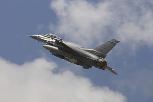 U.S. Air Force F-16C Taking Off by Stocktrek Images