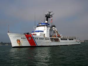 U.S. Coast Guard Cutter Steadfast by Stocktrek Images