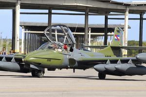 Uruguayan Air Force A-37 Dragonfly at Natal Air Force Base, Brazil by Stocktrek Images