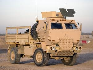 US Army Armored Truck by Stocktrek Images