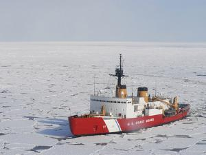 USCGC Polar Sea Conducts a Research Expedition in the Beaufort Sea by Stocktrek Images