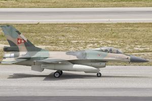 Venezuelan Air Force F-16 at Natal Air Force Base, Brazil by Stocktrek Images