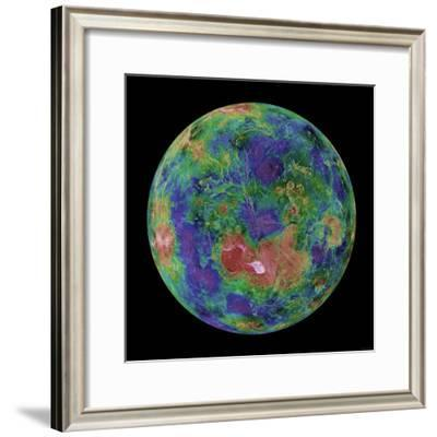 Venus Centered on the North Pole