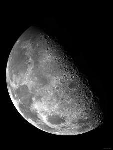 View of the Moon's North Pole by Stocktrek Images