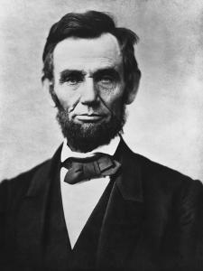 Vintage American Civil War Photo of President Abraham Lincoln by Stocktrek Images
