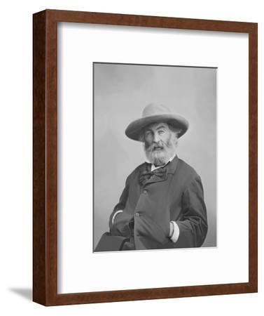 Walt Whitman Portrait Circa 1861-1865