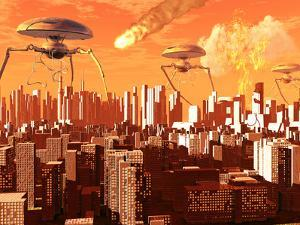 War of the Worlds by Stocktrek Images