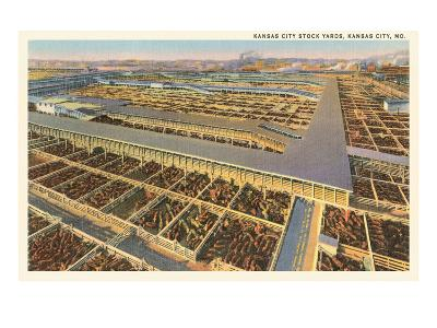 Stockyards, Kansas City, Missouri--Art Print