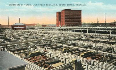 Stockyards, Omaha, Nebraska