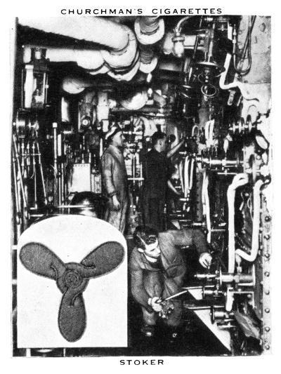 Stoker, 1937- WA & AC Churchman-Giclee Print