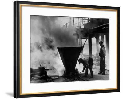Stoking the Ovens--Framed Photographic Print