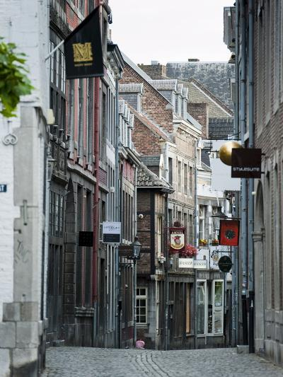 Stokstraat (Stok Street), Maastricht, Limburg, the Netherlands, Europe-Emanuele Ciccomartino-Photographic Print
