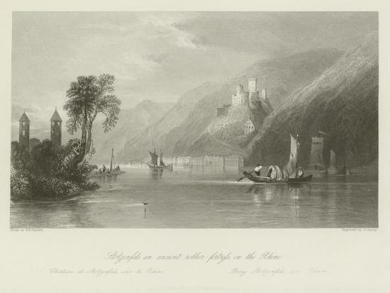 Stolzenfels, an Ancient Robber-Fortress on the Rhine--Giclee Print