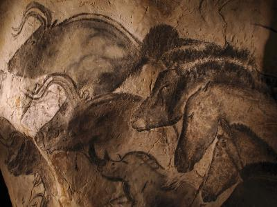 Stone-age Cave Paintings, Chauvet, France-Javier Trueba-Photographic Print
