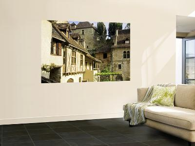 Stone and Half-Timbered Old Houses-Barbara Van Zanten-Wall Mural